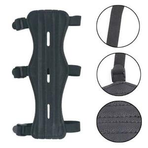 Archery Cow Leather Arm Guard Straps Protector Gear NEW Safe For Hunt F1X7