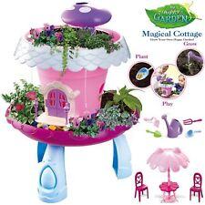 Rexco Rosa Musical Cabaña Grow Your Own Jardín Flores Maceta Juguete de Niñas