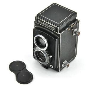 CLA'd Very Rare Rolleicord IId Model 5 6x6 TLR Film Camera w/ Xenar 75mm F3.5!