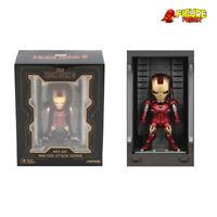 Beast Kingdom Mini Egg Attack MEA-015 Iron Man 3 Hall of Armor LIGHT UP Mark VI