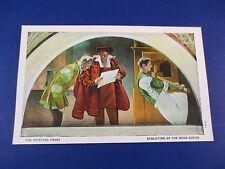 Printing Press Library Of Congress Washington DC Colorful Postcard Unused PC15