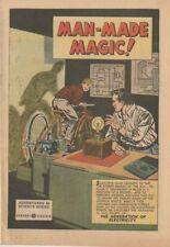 E757 Man Made Magic General Electric 1953 Give Away Comic Book