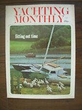 VINTAGE THE YACHTING MONTHLY MAGAZINE MARCH 1971