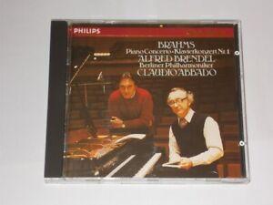 Brahms Piano Concerto 1 Alfred Brendel Claudio Abbado  Philips CD 1987.