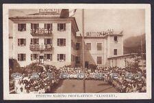 SAVONA CERIALE 24 IST. MARINO PROFILATTICO ELIOTETI COLONIA Cartolina viagg 1934