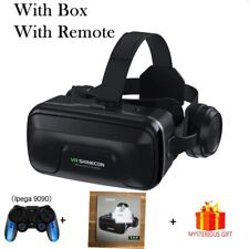 VR Shinecon 10.0 Casque Helmet 3D Glasses Virtual Reality Headset For Smartphone