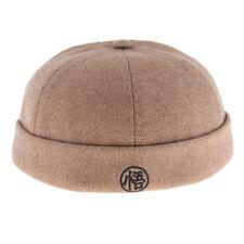 133fb2c42c3 Vintage Docker Cap Hat Wool Felt Leon Beanie Cap Navy Watch Hat Skull Cap