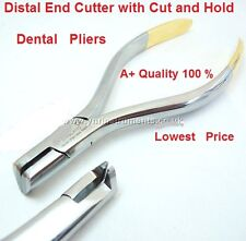 Medentra Professional Clinical Distal End Cutter with Cut and Hold Dental Pliers