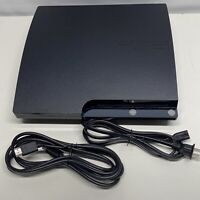 Sony PlayStation 3 Slim 120GB PS3 CECH-2001A Console And Power Cord