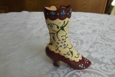 """Just The Right Shoe """"Opera Boot"""" 25005 Miniature Collectibles 1998"""
