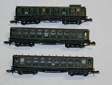 Analoge Epoche I (1835-1920) Modellbahnen der Spur Z Personenwagen