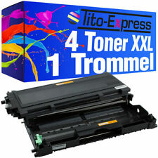 Drum & 4 Toner PlatinumSerie für Brother TN2000 DR2000 DCP-7010 DCP-7010 L DCP-7