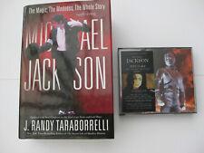 Michael Jackson. History 2 x cd + Whole story, 1958-2009.Book. By Taraborrelli.