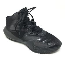 Men's Adidas Crazy Team 2017 Shoes Sneakers Size 6 Basketball Solid Black U15