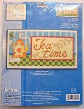 Janlynn Tea Time Cross Stitch Kit I88-0002 New Coffee Shop Decor Wallhanger