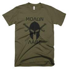 Molon Labe Spartan T-shirt Molon Lave Quote Spartan Army Race Warriors T shirt