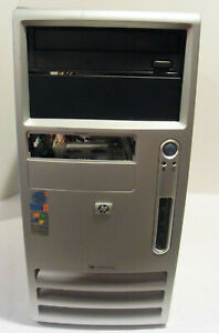HP dc5000 Desktop PC (Intel Pentium 4 2.80GHz 1GB 40GB Win 7 Pro) AS IS READ