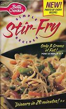 SIMPLE STIR-FRY RECIPES BETTY CROCKER COOKBOOK 1998 #136 SICHUAN CASHEW CHICKEN