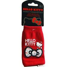 Hello Kitty Phone Sock Case Cover for Nokia iPhone 4 4S and smaller phones - Red