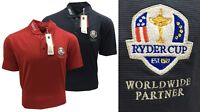 Cutter & Buck Dry Tec Ryder Cup Crested Golf Polo Shirt RRP£50 - SMALL ONLY