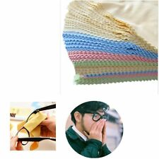 10X Microfiber Phone Screen Camera Len Glasses Square Cleaner Cleaning Cloth