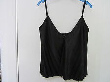 HARRY WHO, NEW WITH TAGS Black, PLEATED TOP, SIZE 12