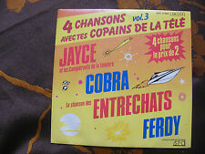 SP 4 CHANSONS AVEC TES COPAINS DE LA TELE Vol.3 / CBS - SFC 17103  (1986)