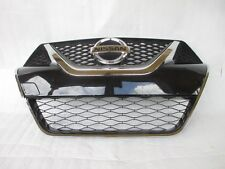 NISSAN  MAXIMA 2016 2017 FRONT BUMPER GRILLE WITH CHROME /EMBLEM OEM 623104RA0A
