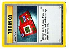 POKEMON BASE English SHADOWLESS CARD UNCO N°  87/102 POKEDEX
