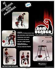 Weight Lifting Machine: Arm Bender - Arm-Wrestling Strength machine, forearm