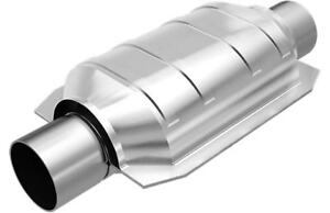"""MagnaFlow SS 2.25"""" In/Out California Catalytic Converter FOR Universal #338105"""
