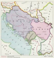 Cartina Geografica Ex Jugoslavia.Jugoslavia In Vendita Mappe Atlanti E Mappamondi Ebay