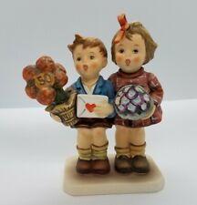 Large Goebel Hummel Love Lives On Marked #416 50th Anniversary Mint Figurine