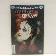 HARLEY QUINN #1 BILL SIENKIEWICZ COVER ART SIGNED BY COLORIST ALEX SINCLAIR NM!