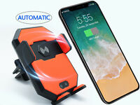 Universal Automatic Wireless Charger Car Air Vent Stand Mount Phone Holder Or