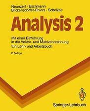 Analysis 2. Mit einer Einführung in die Vektor- und Matr... | Buch | Zustand gut