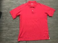 Tommy Bahama Men's Large Polo Shirt Short Sleeve Cotton Casual Top