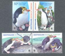 Australian Antarctic Territory-Royal Penguins mnh 2007(scarce horizontal pairs)