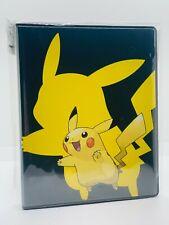 Pokemo!! Ultra Pro Pikachu 4-Pocket Portfolio/Sammelalbum - 80 Karten - Neu/OVP