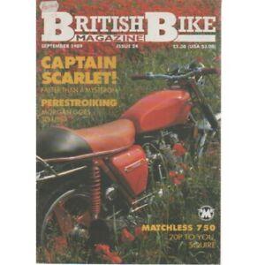 British Bike Magazine September 1989 (026) MATCHLESS 750