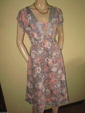 Monsoon Viscose V-Neck Midi Dresses for Women