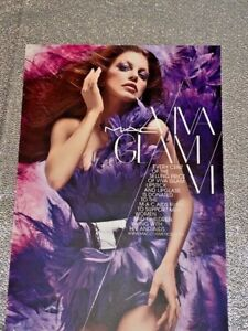 Mac cosmetics viva glam fergie music collectable postcard makeup rare collection