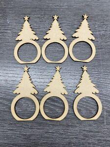 MDF Christmas Tree Napkin Ring