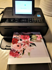 CANON Selphy CP1300 Wireless Photo Printer + Ink + USB Cable