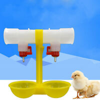 Trinkende hängende Hühner Cups Nippel Trinker Geflügel Waterer
