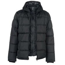 Lee Cooper Men's Two Zip Padded Jacket Black Size L New