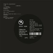 APHEX TWIN - COMPUTER CONTROLLED ACOUSTIC ... EP VINYL LP + DOWNLOAD NEW!