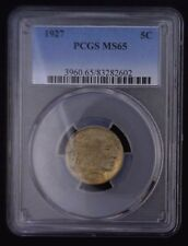 1927 Buffalo Nickel PCGS MS 65