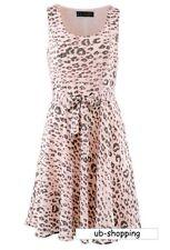 Figurbetont geschnittenes Kleid mit Druck Gr.42