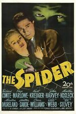 THE SPIDER 1945 FILM NOIR  CRIME FILM WITH  RICHARD CONTE ON DVD